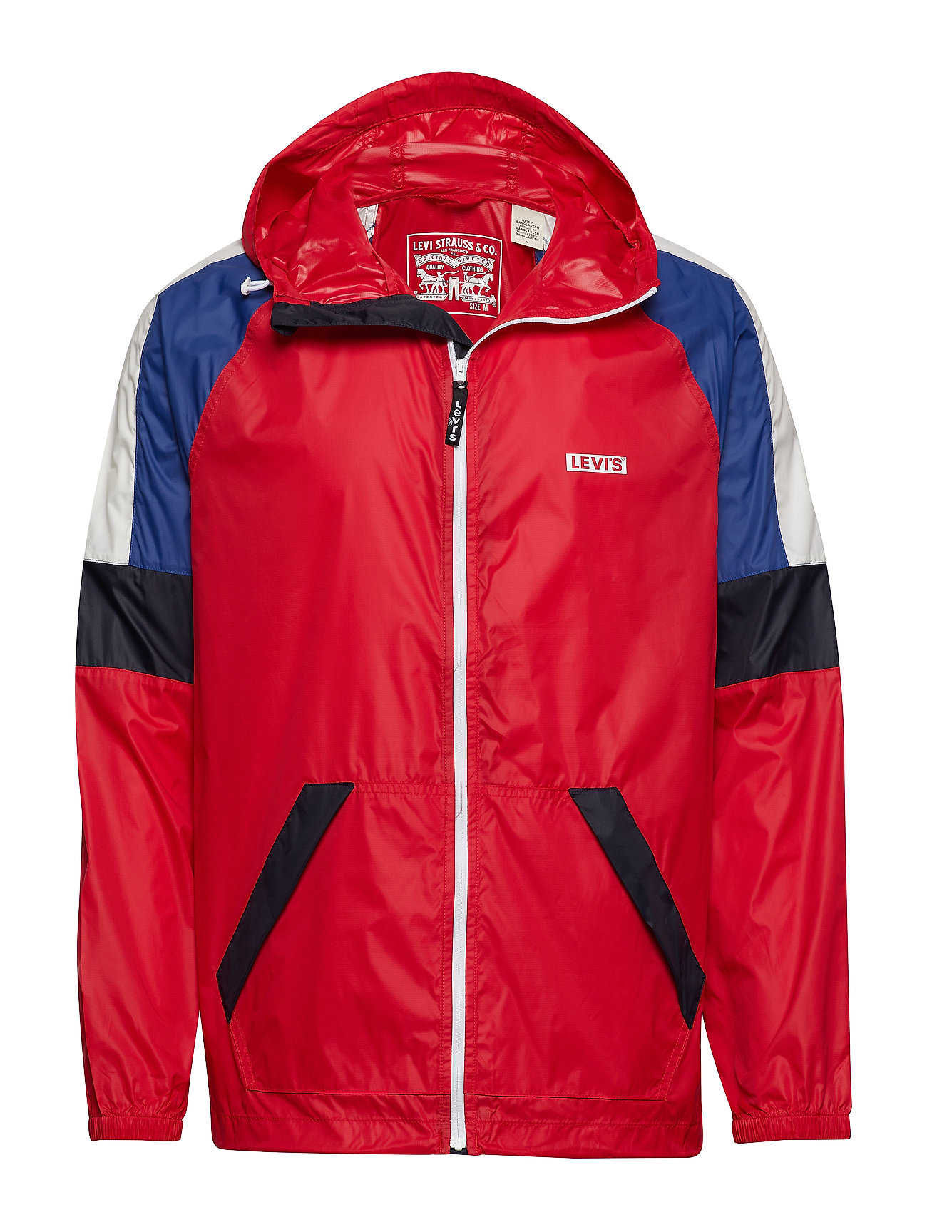 LEVI´S Men COLORBLOCK WINDRUNNER CHINESE - REDS