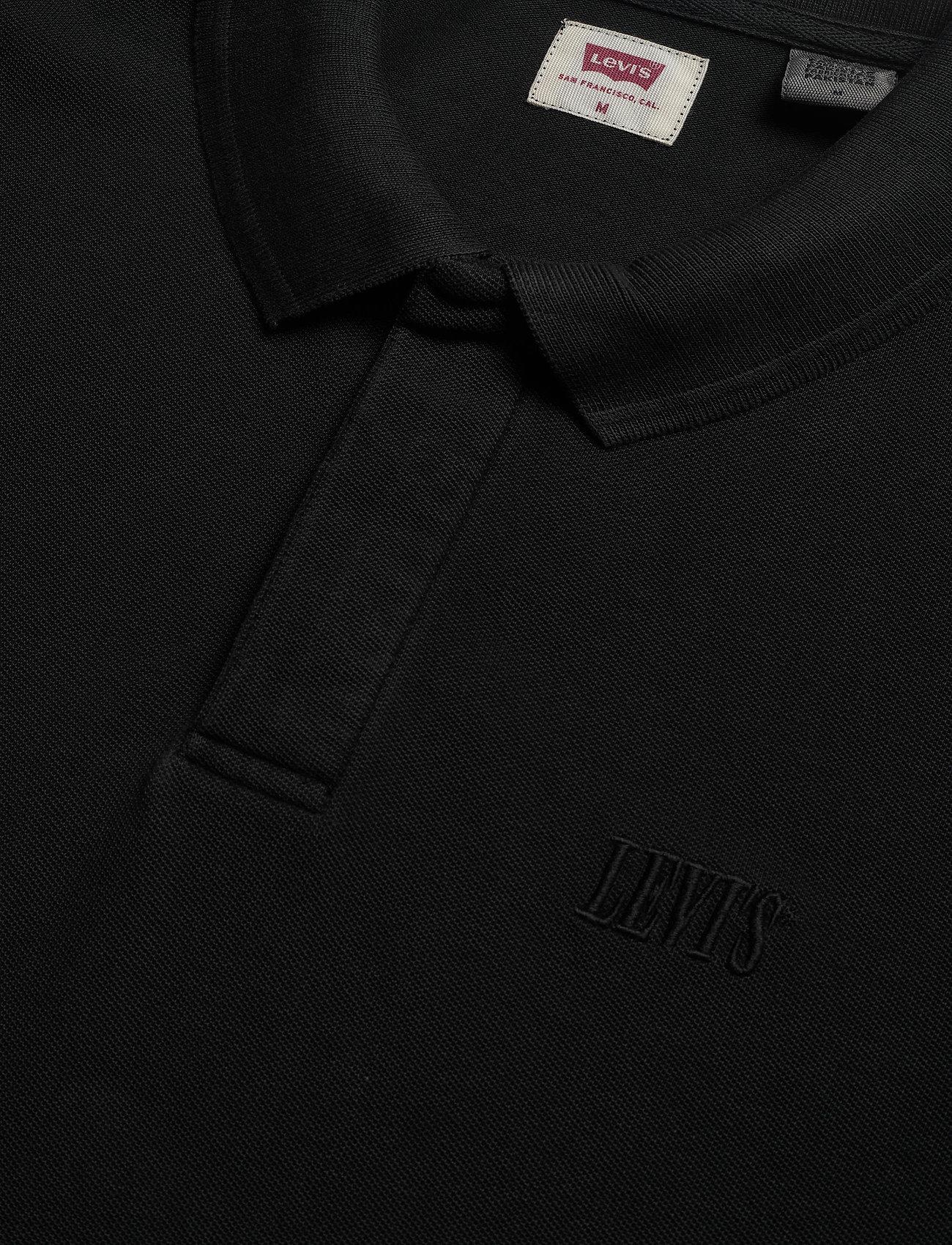 LEVI´S Men AUTHENTIC LOGO POLO SERIF GARM - Poloskjorter BLACKS - Menn Klær
