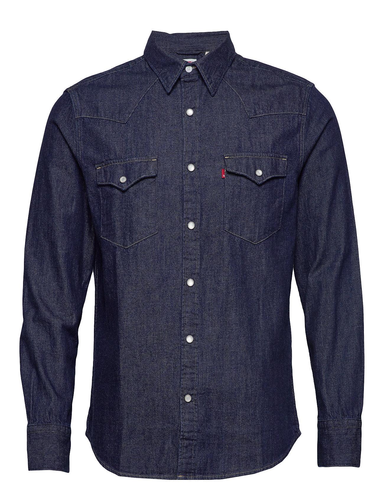 LEVI´S Men - BARSTOW WESTERN STANDARD RED C - koszule w kratkę - blues - 0