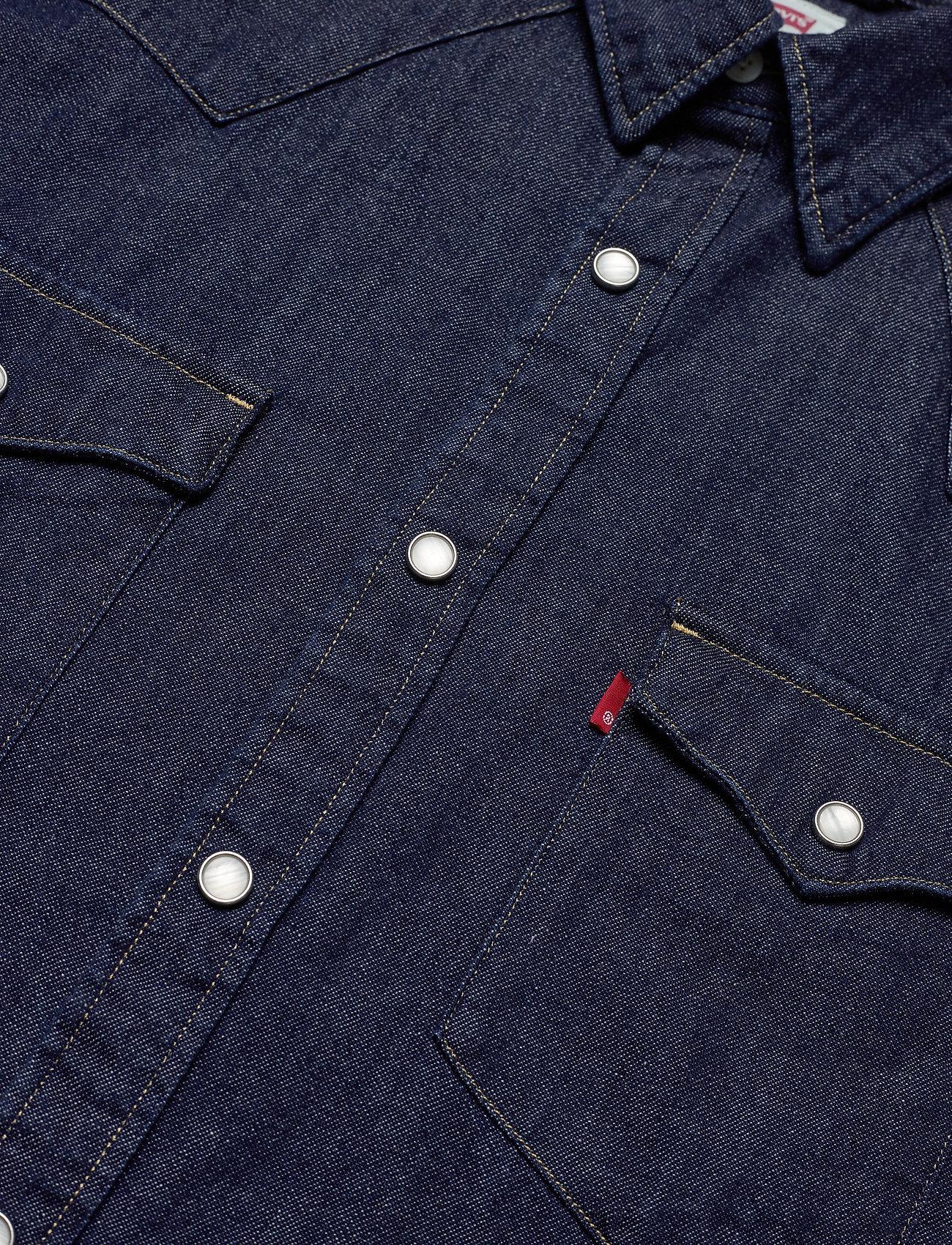 LEVI´S Men - BARSTOW WESTERN STANDARD RED C - linnen overhemden - blues - 2