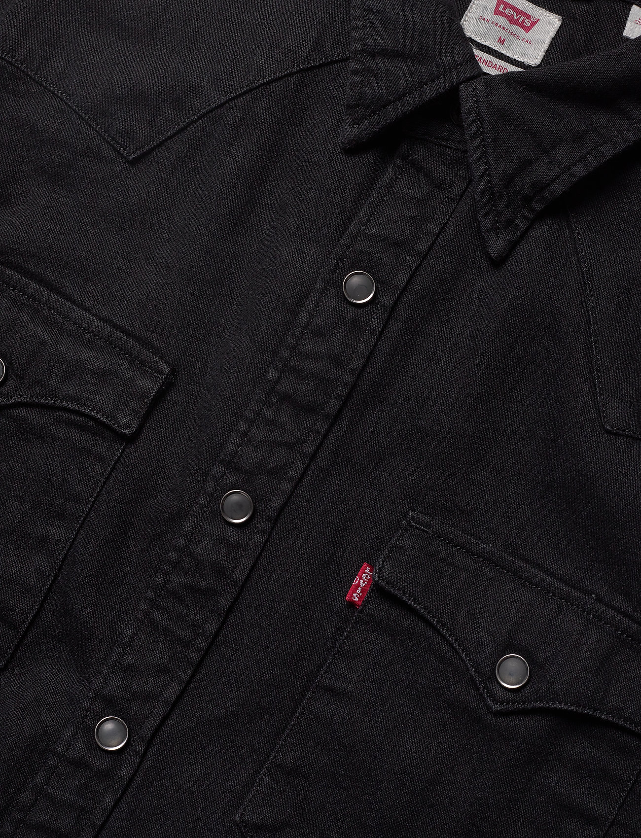 LEVI´S Men BARSTOW WESTERN STANDARD MARBL - Skjorter BLACKS - Menn Klær