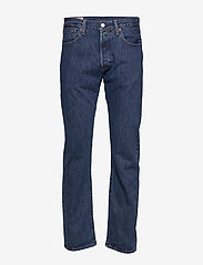 LEVI´S Men - 501 LEVISORIGINAL FIT STONEWASH - regular jeans - med indigo - flat finish - 0
