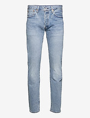 LEVI´S Men - 501 LEVISORIGINAL BASIL SAND - regular jeans - med indigo - flat finish - 1