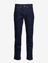 LEVI´S Men - 514 STRAIGHT CHAIN RINSE - regular jeans - dark indigo - flat finish - 1