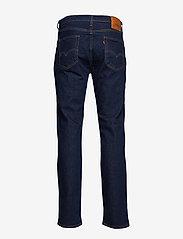 LEVI´S Men - 514 STRAIGHT CHAIN RINSE - regular jeans - dark indigo - flat finish - 2