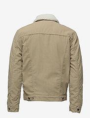 LEVI´S Men - TYPE 3 SHERPA TRUCKER TRUE CHI - denim jackets - neutrals - 1