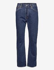 LEVI´S Men - 551Z AUTHENTIC STRAIGHT RUBBER - regular jeans - med indigo - worn in - 1
