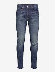 LEVI´S Men - 512 SLIM TAPER RED RED JUICE A - slim jeans - dark indigo - worn in - 0