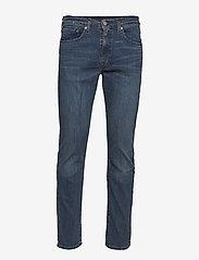 LEVI´S Men - 502 REGULAR TAPER HEADED SOUTH - slim jeans - dark indigo - worn in - 0