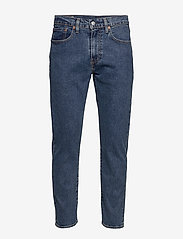 LEVI´S Men - 502 TAPER STONEWASH STRETCH T2 - regular jeans - med indigo - flat finish - 1