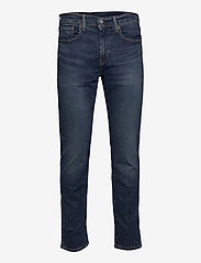 LEVI´S Men - 502 TAPER WAGYU MOSS - slim jeans - dark indigo - worn in - 1