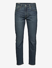 LEVI´S Men - 502 TAPER EAZY SHOCK GREEN - regular jeans - dark indigo - worn in - 0