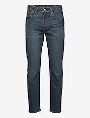 LEVI´S Men - 502 TAPER EAZY SHOCK GREEN - regular jeans - dark indigo - worn in - 0