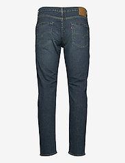LEVI´S Men - 502 TAPER EAZY SHOCK GREEN - regular jeans - dark indigo - worn in - 1