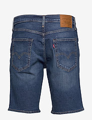 LEVI´S Men - 502 TAPER SHORTS 10 PANETTONE - denim shorts - med indigo - worn in - 1