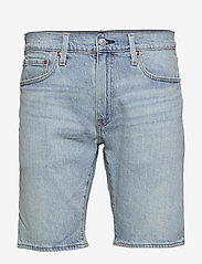 LEVI´S Men - 502 TAPER SHORTS 10 TOAST SHOR - denim shorts - light indigo - worn in - 0