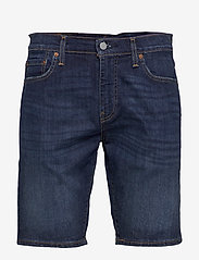 LEVI´S Men - 502 TAPER SHORTS 10 RAINSHOWER - denim shorts - dark indigo - worn in - 0