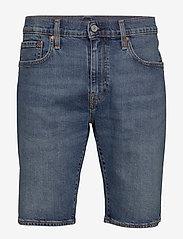 LEVI´S Men - 502 TAPER SHORTS 10 MT HOME SH - jeans shorts - dark indigo - flat finish - 0