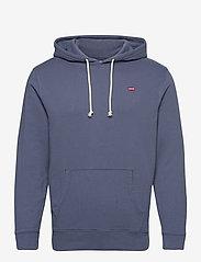 LEVI´S Men - NEW ORIGINAL HOODIE BLUE INDIG - basic sweatshirts - blues - 0