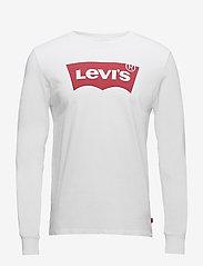 LEVI´S Men - LS STD GRAPHIC TEE HM LS BETTE - long-sleeved t-shirts - neutrals - 0