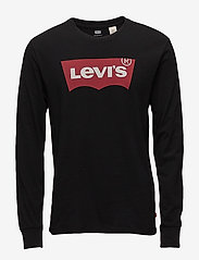 LEVI´S Men - LS STD GRAPHIC TEE HM LS BETTE - long-sleeved t-shirts - blacks - 0