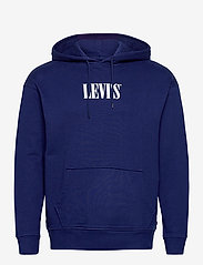 LEVI´S Men - T2 RELAXED GRAPHIC PO RELAXED - hoodies - blues - 0