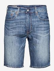 LEVI´S Men - 405 STANDARD SHORT BOOM BOOM C - jeansowe szorty - med indigo - worn in - 0
