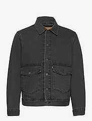 LEVI´S Men - AT WORK TRUCKER SEAN TRUCKER - denim jackets - blacks - 0