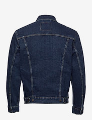 LEVI´S Men - THE TRUCKER JACKET MOON LIT TR - farkkutakit - dark indigo - flat finish - 2