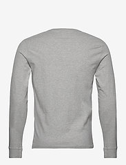 LEVI´S Men - LS ORIGINAL HM TEE MEDIUM GREY - t-shirts basiques - greys - 1