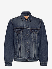 LEVI´S Men - VINTAGE FIT TRUCKER V. ROAMER - denim jackets - dark indigo - worn in - 0
