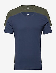 LEVI´S Men - SLIM 2PK CREWNECK 1 2PK SLIM C - podstawowe koszulki - multi-color - 0
