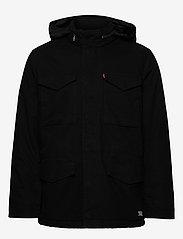 LEVI´S Men - SHERPA FIELD COAT BLACK 05157 - wool coats - blacks - 3