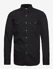 LEVI´S Men - BARSTOW WESTERN STANDARD MARBL - denim shirts - blacks - 0