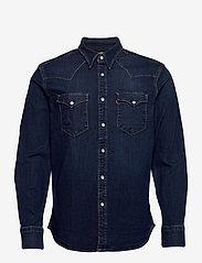 LEVI´S Men - BARSTOW WESTERN STANDARD MODER - koszule w kratkę - blues - 0