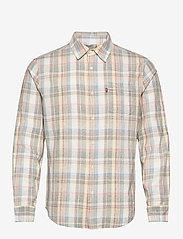 LEVI´S Men - SUNSET 1 POCKET STANDARD NIGEL - denimowe koszulki - multi-color - 0