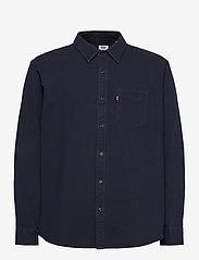 LEVI´S Men - SUNSET 1 PKT SLIM BLACK INDIGO - basic shirts - dark indigo - flat finish - 0