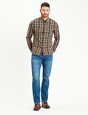 LEVI´S Men - 501 LEVISORIGINAL KEY WEST SKY - regular jeans - dark indigo - flat finish - 0