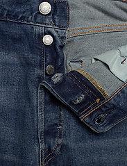 LEVI´S Men - 501 LEVISORIGINAL CANDY PAINT - regular jeans - med indigo - worn in - 3