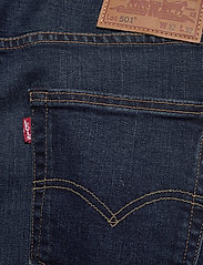 LEVI´S Men - 501 LEVISORIGINAL BLOCK CRUSHE - regular jeans - dark indigo - worn in - 4