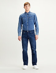 LEVI´S Men - 501 LEVISORIGINAL MIAMI SKY OD - slim jeans - dark indigo - flat finish - 0