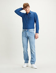 LEVI´S Men - 501 LEVISORIGINAL BASIL SAND - regular jeans - med indigo - flat finish - 0