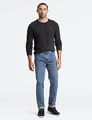 LEVI´S Men - 514 STRAIGHT STONEWASH STRETCH - regular jeans - med indigo - flat finish - 0