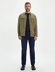 LEVI´S Men - 514 STRAIGHT CHAIN RINSE - regular jeans - dark indigo - flat finish - 0