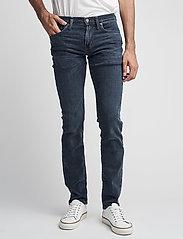 LEVI´S Men - 511 SLIM FIT HEADED SOUTH - džinsa bikses ar tievām starām - dark indigo - worn in - 0