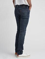 LEVI´S Men - 511 SLIM FIT HEADED SOUTH - džinsa bikses ar tievām starām - dark indigo - worn in - 5