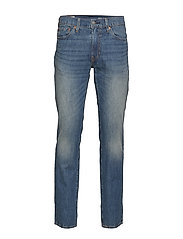 511 SLIM FIT THRESHER WARP COO - MED INDIGO - WORN IN