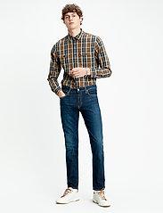 LEVI´S Men - 511 SLIM BIOLOGIA ADV - slim jeans - dark indigo - worn in - 0