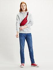 LEVI´S Men - 511 SLIM PONCHO AND RIGHTY ADV - slim jeans - dark indigo - worn in - 0