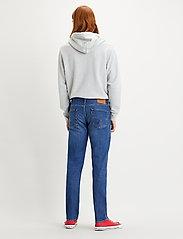 LEVI´S Men - 511 SLIM PONCHO AND RIGHTY ADV - slim jeans - dark indigo - worn in - 3